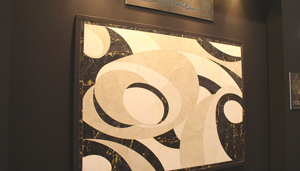 Santucci: Decorative waterjet-cut designs in stone www.santucci.it