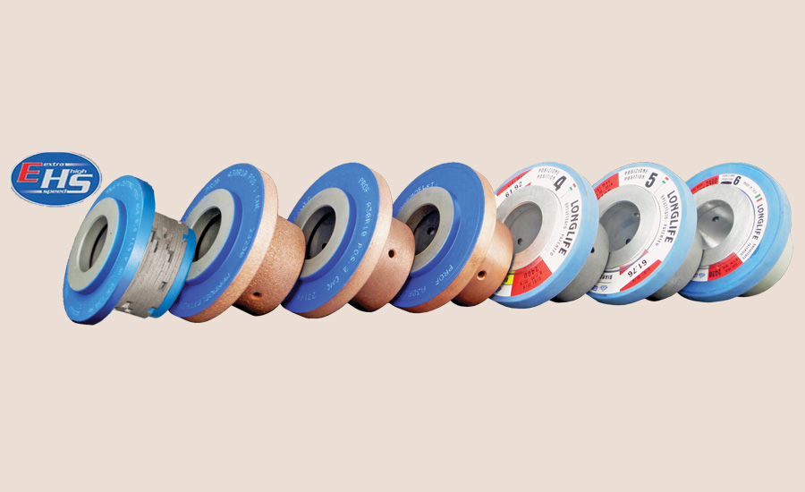 Extra High Speed (EHS) line of CNC profile wheels