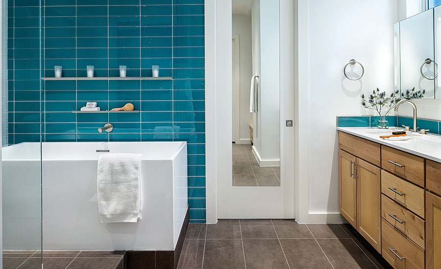 A home in austin tx neighborhood receives a much needed for Bathroom design austin tx