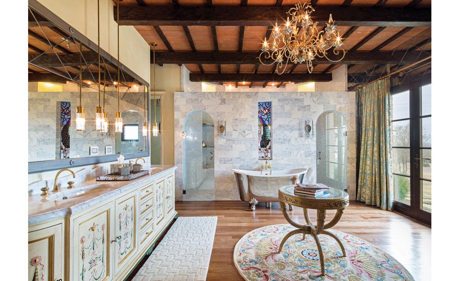 bringing tuscany home - Limestone Home 2016