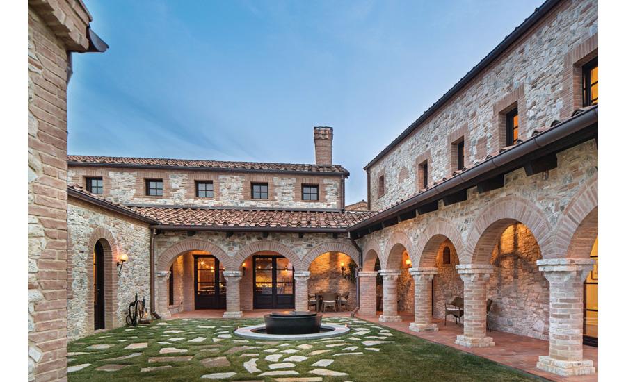 bringing tuscany home | 2016-01-06 | stone world