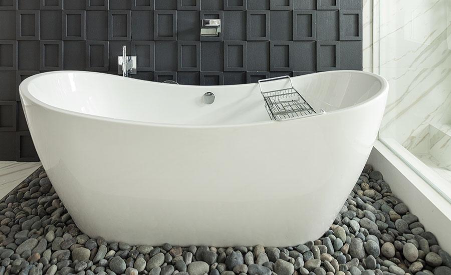 A Master Bathroom Is Transformed Using