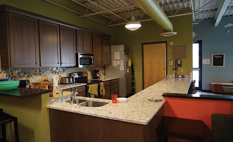 Local Companies In Madison Wi Came Together To Improve A Kitchen At A Respite Center 2016 04