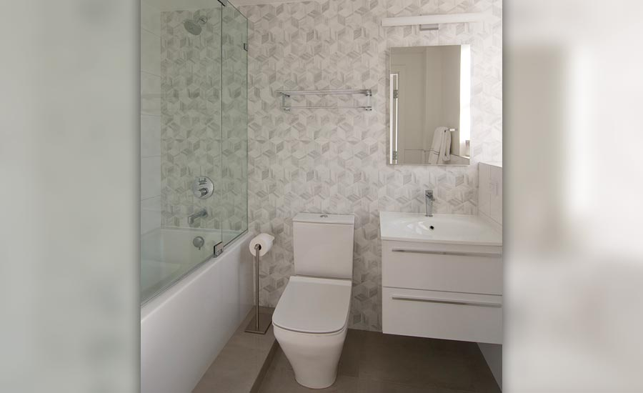 Anjie Cho design with tile