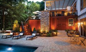 Outdoor Living space by MasterPLAN Outdoor Living