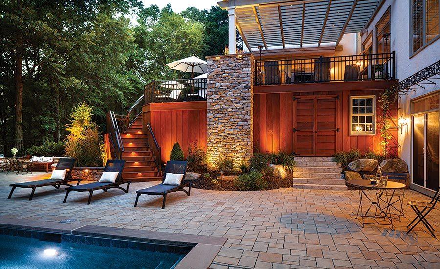 Outdoor Living Designer Joshua Gillow Designs with Natural ... on Outdoor Living Designer id=93363