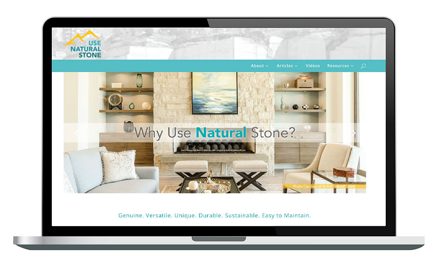 Use Natural Stone campaign