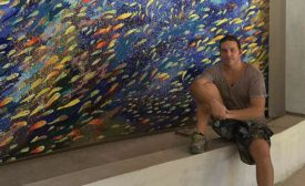Danilo Bonazza, mosaic artist, owner of Art & Mosaics