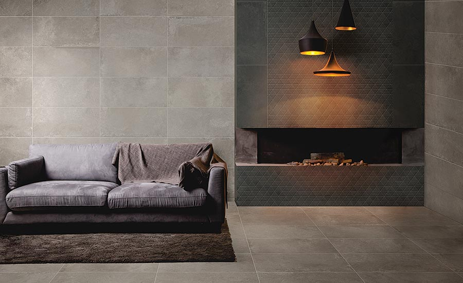 ConKreto Colorbody porcelain tile by Ragno USA