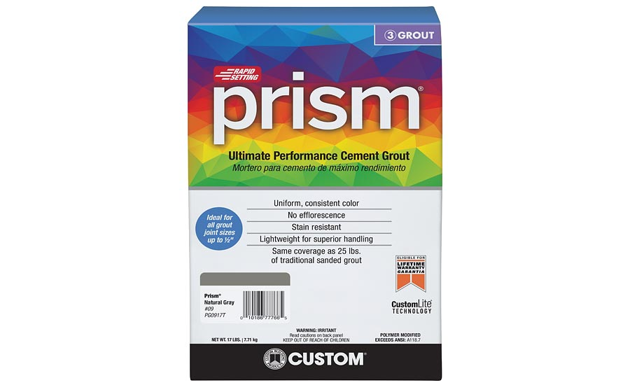 Prism Ultimate Performance Cement Grout from Custom Building Products