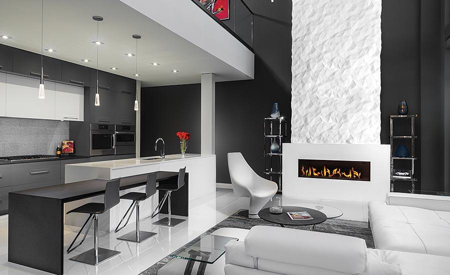 HanStone Quartz used to create a dream kitchen and bathroom