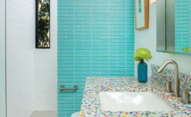 Artic White subway tile from Daltile