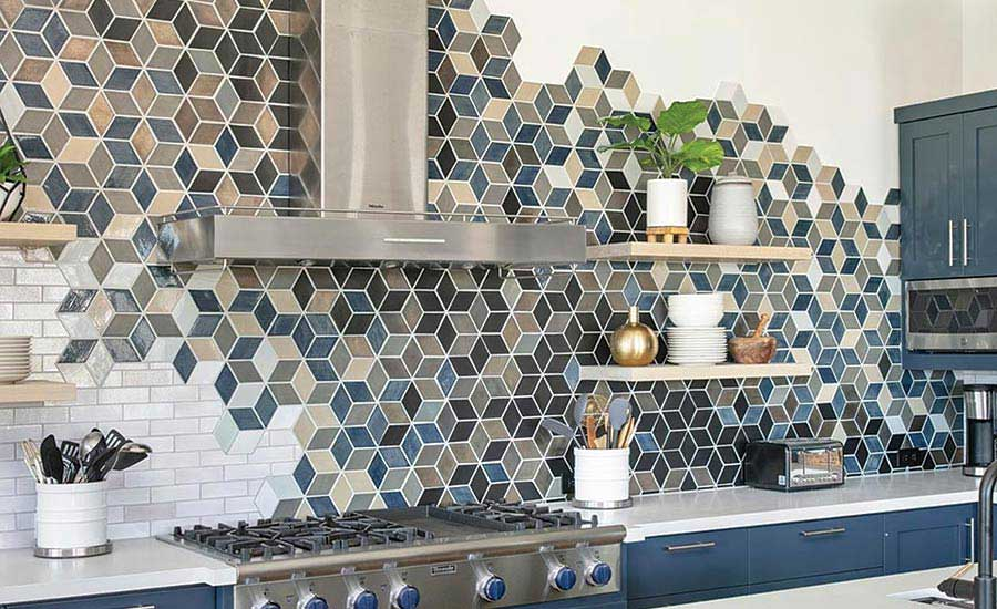 personalized mosaic tile design