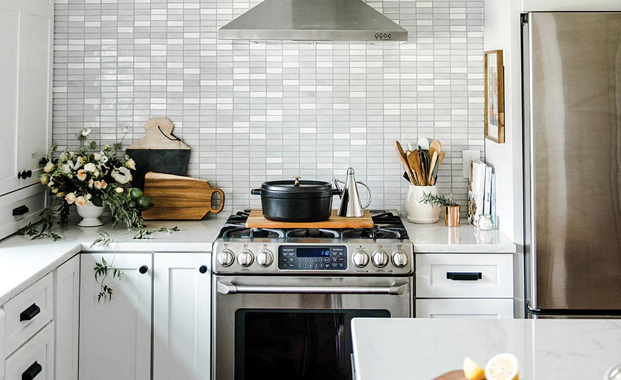 mosaic tile for kitchen backsplashes and accent walls
