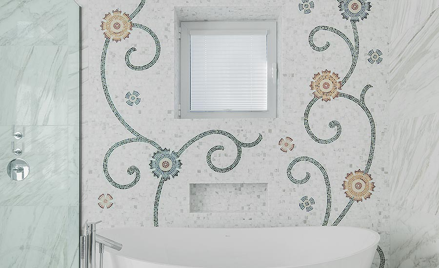 Made-to-measure custom mosaics by Ciot Studio