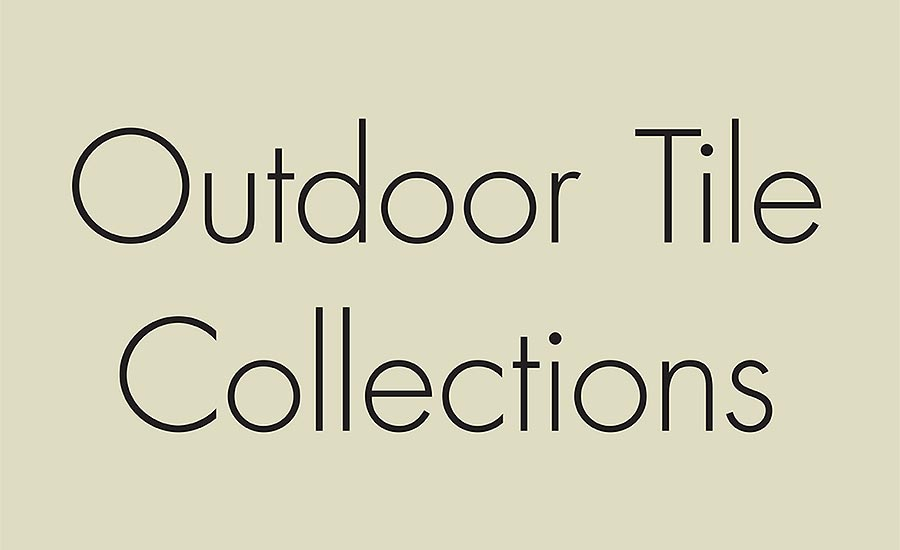 Product Gallery: Outdoor Tile Collections