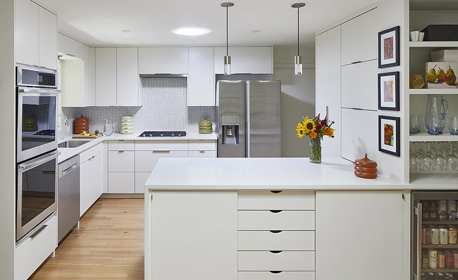 Creating a light airy feel for a kitchen remodel