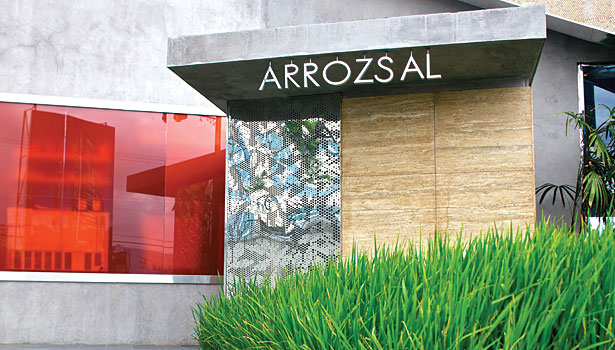 Arrozsal restaurant entrance