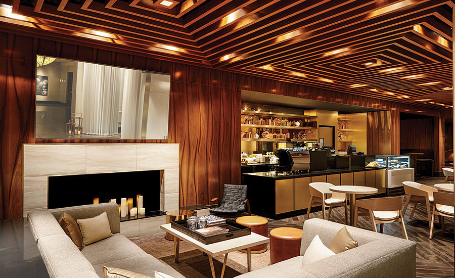 Thehotel In Las Vegas Rebranded With Stone And Tile 2015