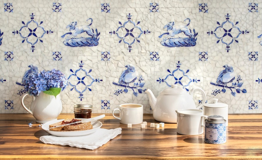 New Ravenna Introduces Delft Mosaics