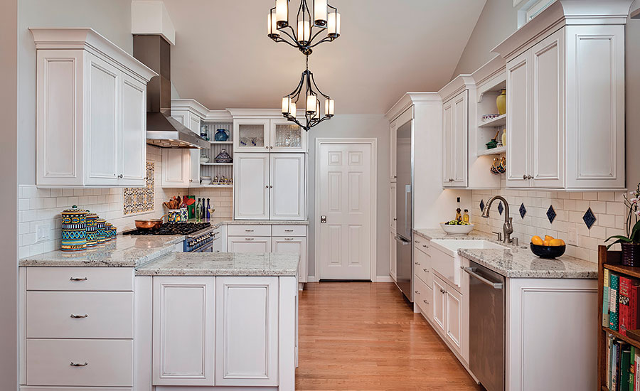 California Kitchen Adds Splash Of Color By Adding Decorative