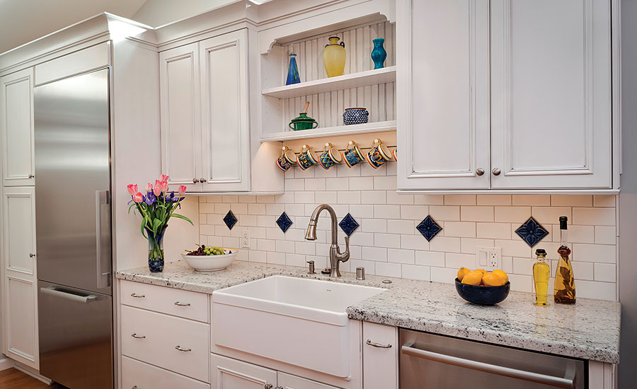California Kitchen Adds Splash Of Color By Adding