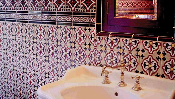 Draco Rosa Master Bathroom
