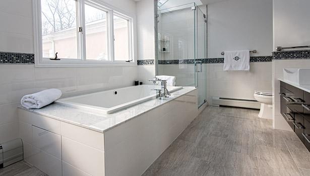 Tasty Bathroom Tiles Designs. Rev Run renovated bathroom Personal tastes reflected in kitchen and bath designs  2014 04 02