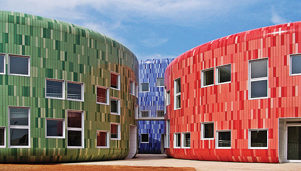 Children Education Center and Children Innovation Center in Valencia, Spain