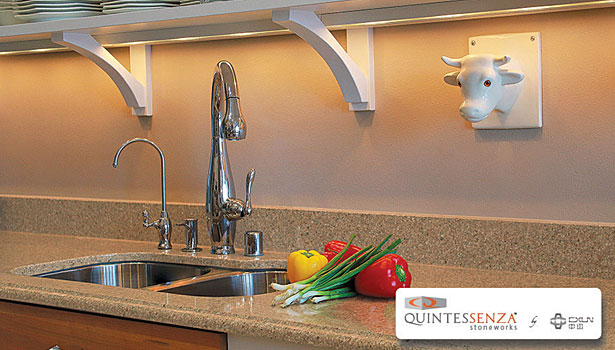 Quintessenza Stoneworks quartz surfacing stone