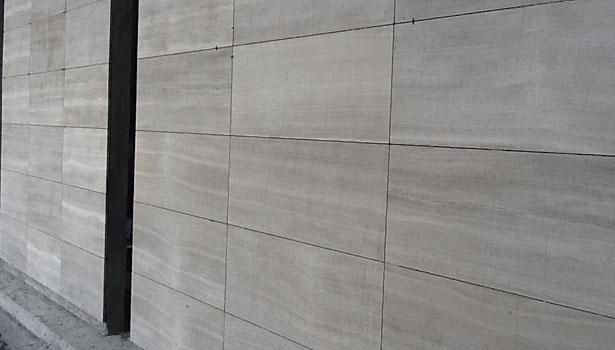 Exterior stone design identifies posh residential community | 2014 ...