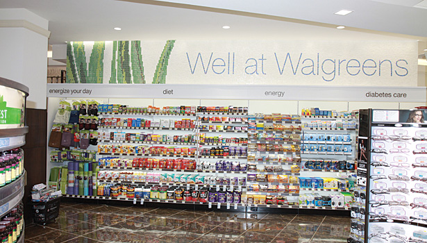 Walgreen's Flagship Store cosmetics department