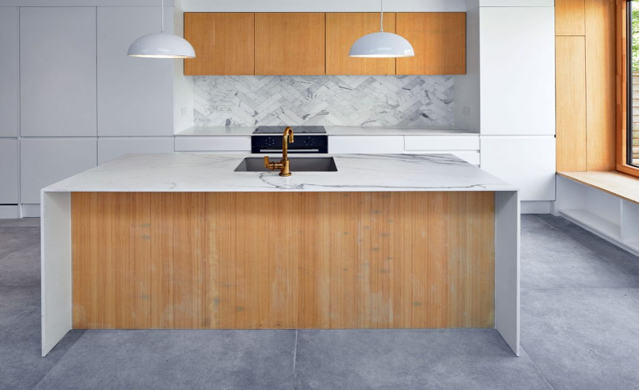 Neolith and MKW Surfaces delivers a lesson in aesthetic understatement for London kitchen