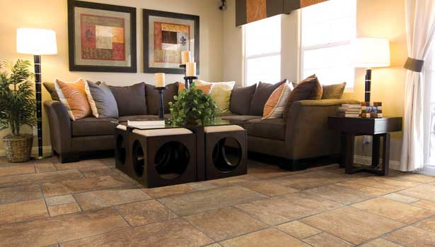 River Rock porcelain tile