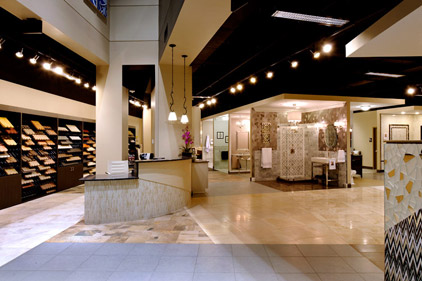 mosaic tile company showroom