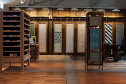 Fireclay Tile showroom