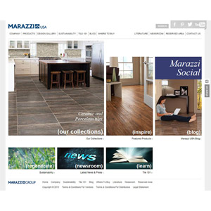 marazzi new website