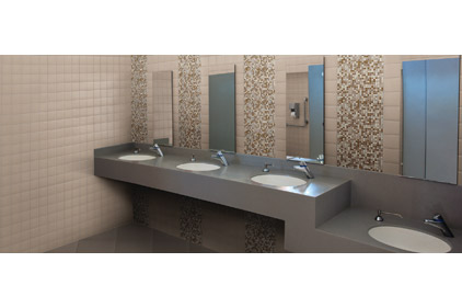 Streamline wall tile series