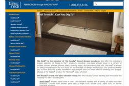 Tile redi new website