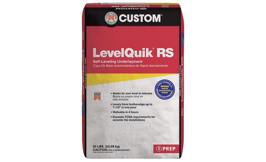LevelQuik from Custom Building Products