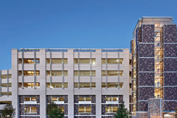 Duke University's new 1,900-car parking garage