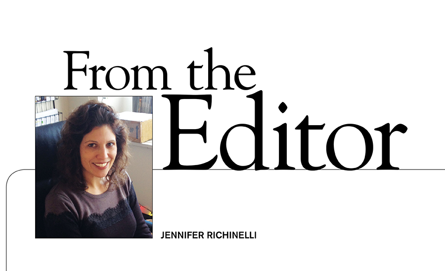 From the Editor: Moving forward with change