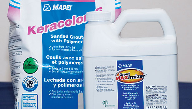 Grout Maximizer  slide