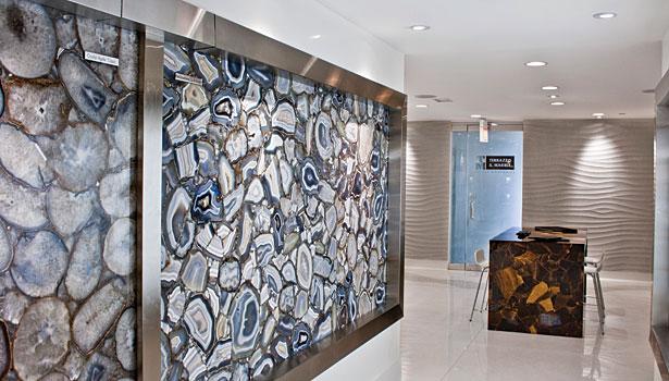 Terrazzo Marble Supply Opens Precioustone Gallery 2011