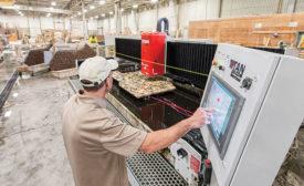 Titan CNC stoneworking machine