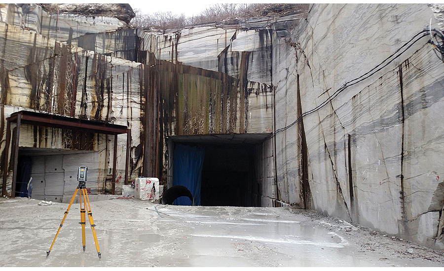 Vermont Danby Marble : D laser scanning expands horizons for vermont danby