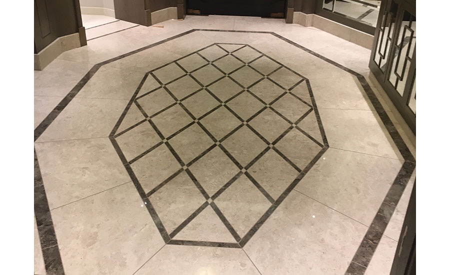 Freemasons' Hall in London, England Reception Area by Avantgarde Tiling