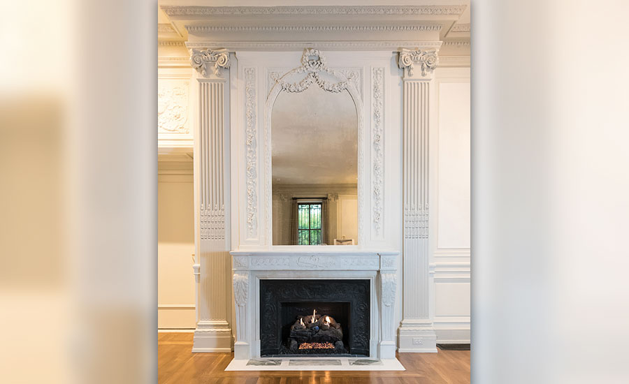 Cosmos Club Historic Fireplace