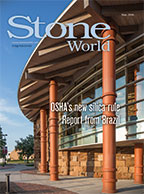 Stone World May 2016 cover