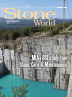 Stone World November 2016 cover